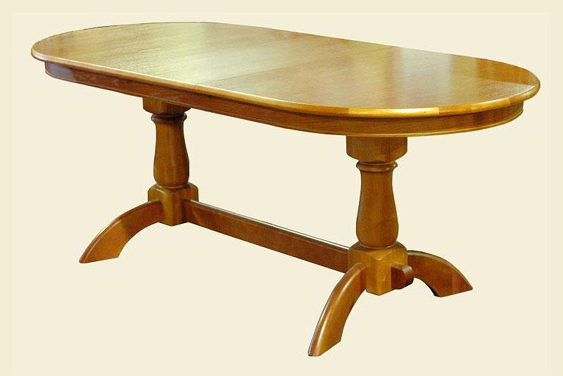 Кухонный овальный стол своими руками 78